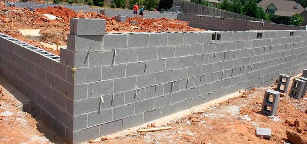 стеновые блоки
